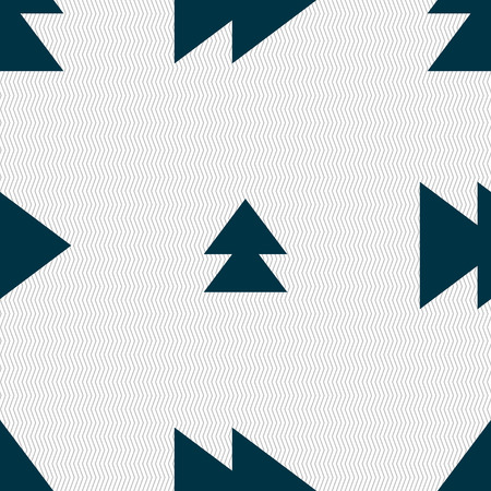 multimedia background: multimedia sign icon. Player navigation symbol. Seamless abstract background with geometric shapes. illustration Stock Photo