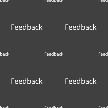 feedback sticker: Feedback sign icon. Seamless pattern on a gray background. illustration Stock Photo