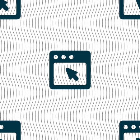 dialog box: the dialog box icon sign. Seamless pattern with geometric texture. illustration