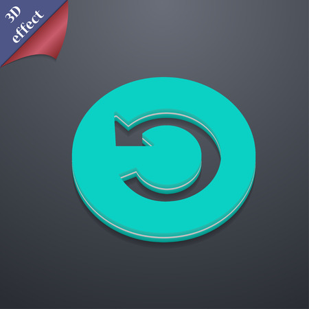 groupware: icon symbol. 3D style. Trendy, modern design with space for your text illustration. Rastrized copy Stock Photo