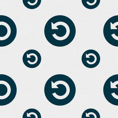 groupware: icon sign. Seamless pattern with geometric texture. illustration