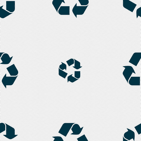 processing: processing icon sign. Seamless pattern with geometric texture. illustration Stock Photo