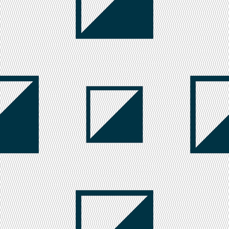 contrast: contrast icon sign. Seamless abstract background with geometric shapes. illustration