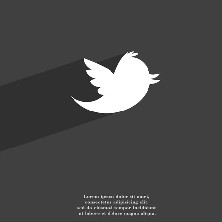 Social Media Messages Twitter Retweet Icon Symbol Flat Modern
