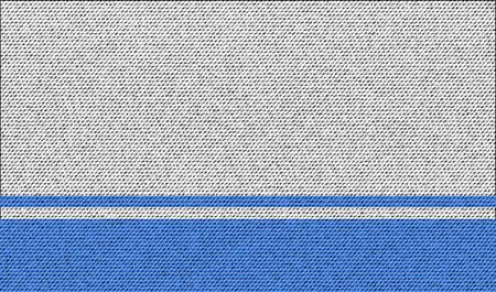 altai: Flags of Altai Republic on denim texture. Vector illustration