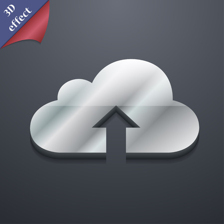 data archiving: Backup icon symbol. 3D style. Trendy, modern design with space for your text Vector illustration