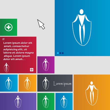 calisthenics: jump rope icon sign. buttons. Modern interface website buttons with cursor pointer. Vector illustration