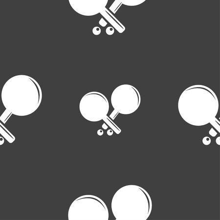 racquetball: Tenis icono de la muestra de cohetes. patr�n transparente sobre un fondo gris. ilustraci�n vectorial