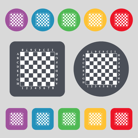 chess board: Modern Chess board Illustration