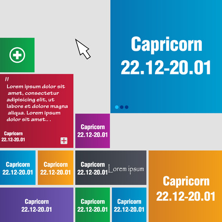 capricorn: Capricorn Illustration