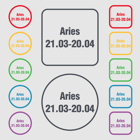 aries: Decorativo zodiacal Aries