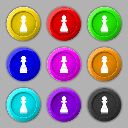 Chess Pawn Illustration
