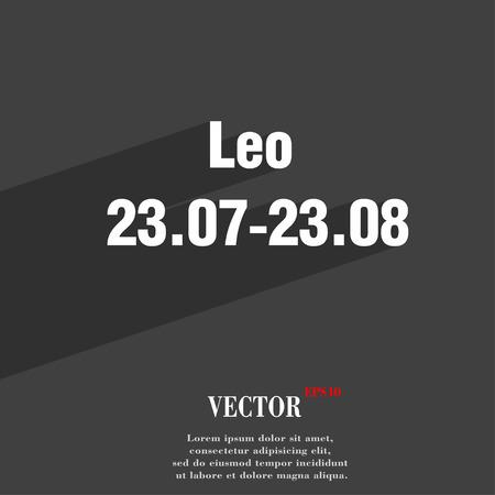 prophecy: Leo zodiac Illustration