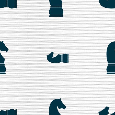caballo de ajedrez: icono de caballo de ajedrez.