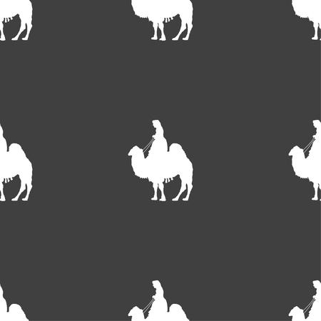 arab beast: Camel Illustration