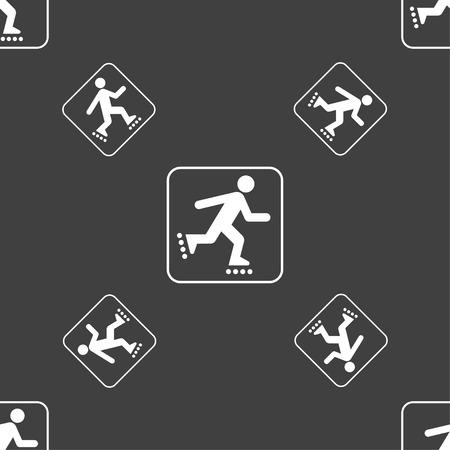 roller skating: roller skating