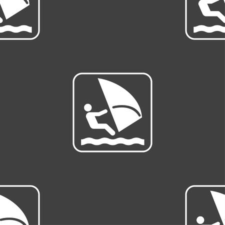 windsurf: Windsurf Vectores