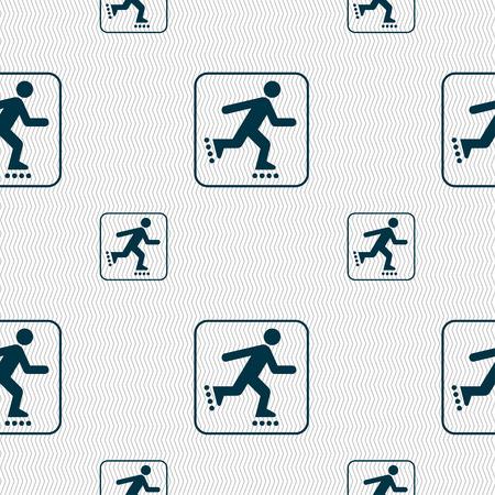 recreational pursuit: roller skating