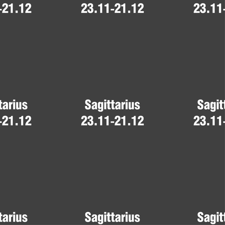sagittarius: Sagittarius