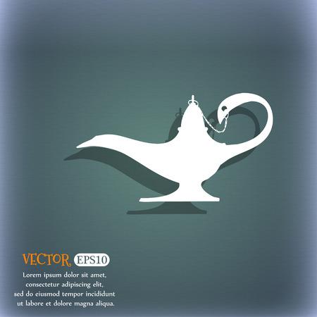 Alladin lamp genie