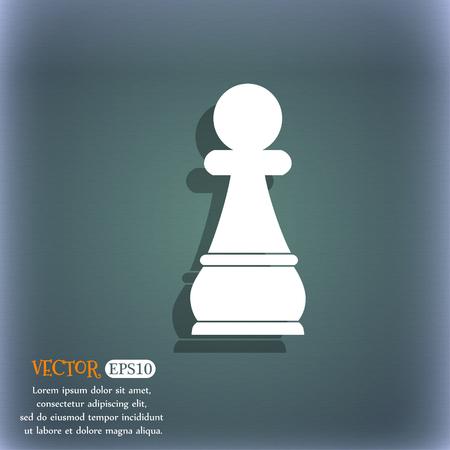 chess pawn: Chess Pawn Illustration