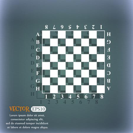 Modern Chess board Illustration