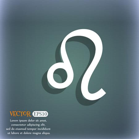 foretell: Leo zodiac Illustration