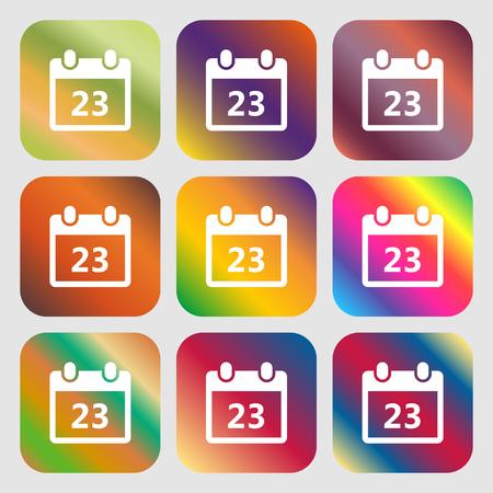 calendar page: calendar page icon