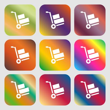 loader: Loader sign icon Illustration