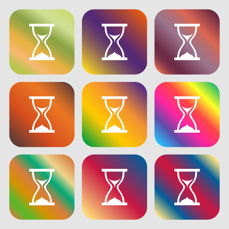 timepieces: hourglass icon