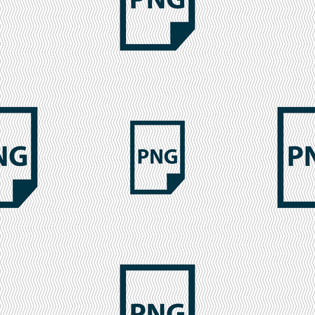 png: PNG Icon sign. Seamless pattern with geometric texture. Vector illustration Illustration