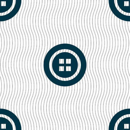 clincher: Sewing button sign. Seamless pattern with geometric texture. Vector illustration