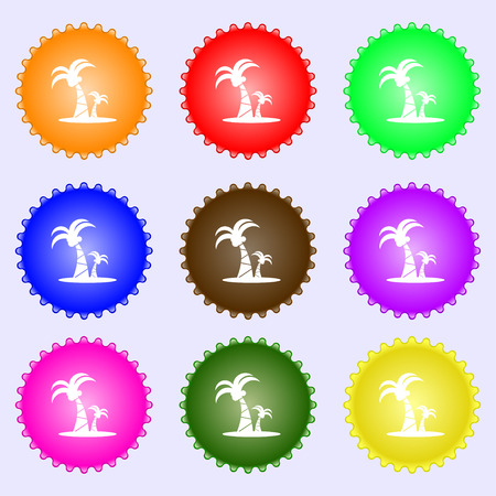 paml icon sign. Big set of colorful, diverse, high-quality buttons. Vector illustration