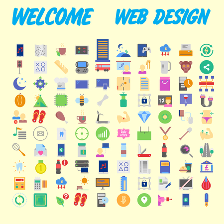 Trendy flat line icon pack for designers and developers. Icons for social media, social network, communication, digital marketing, for websites and mobile websites and apps. Vector illustration