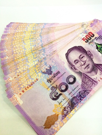 baht: Baht notes, paper , money