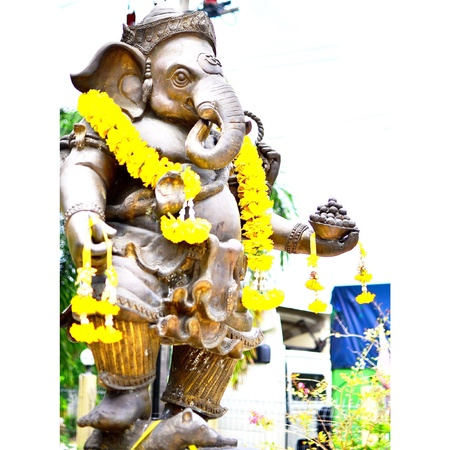 believes: Ganesha god