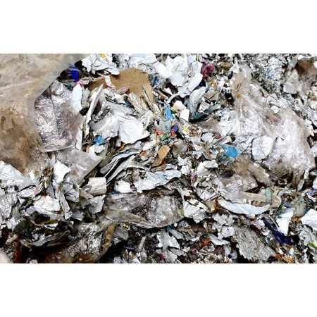 recycle bin: Recycle foil, reused and recycle bin Stock Photo