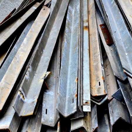 industry: Steel plate , iron plate and iron gray Stock Photo