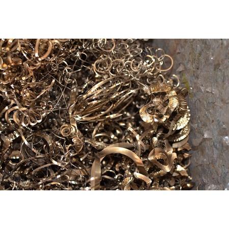 iron hoops: Iron scraps Stock Photo