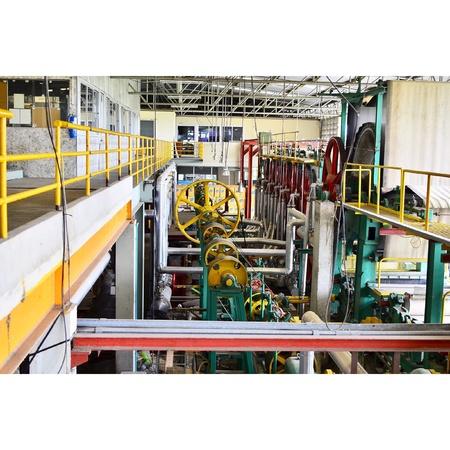 shafts: Shaft and machine Stock Photo