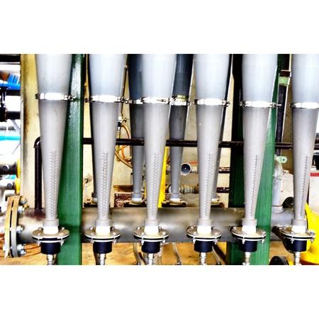 shafts: Low den city LD Stock Photo