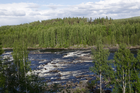 biggest: One of the biggest rivers in Sweden
