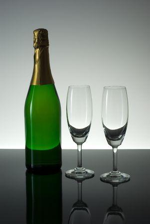 Champange and Glasses photo