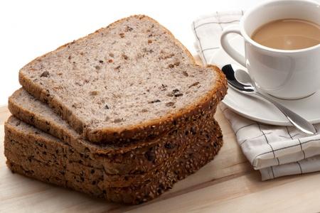 sandwich bread: Breakfast Stock Photo