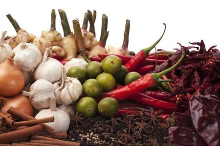 seasonings: Asian Spice Stock Photo