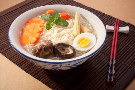 asian noodle: Soup Noodles