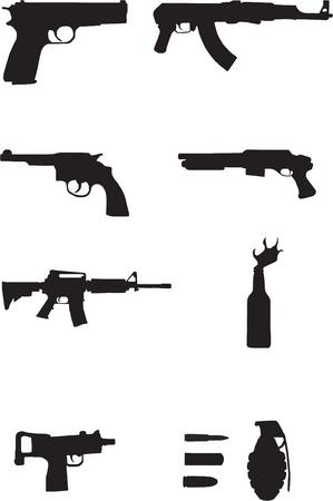 gun shell: Armas