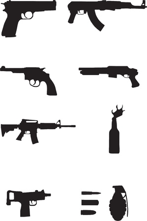 Guns Stock Vector - 12168805