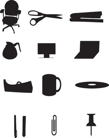 office stapler: Office Supply Illustration