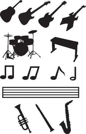 Musik Standard-Bild - 12479880
